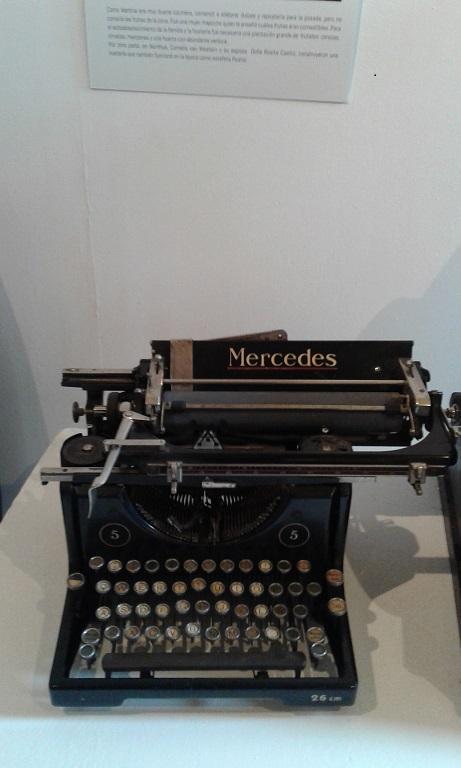 museo maquina de escribir