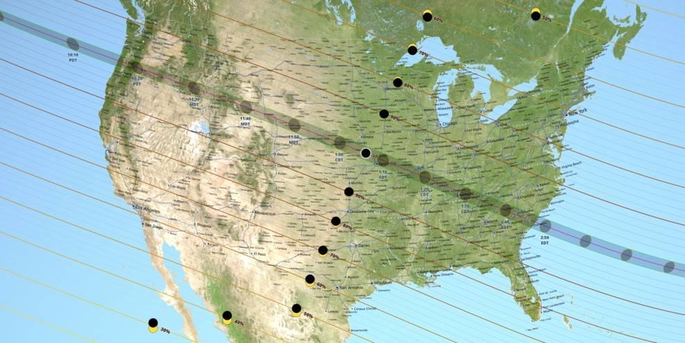 eclipse cruza EEUU