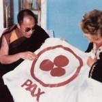 nicolas roerich bandera de la paz y dalai lama