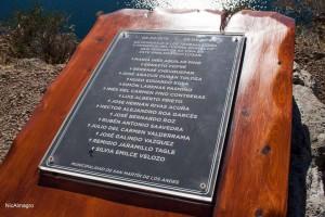 homenaje placa