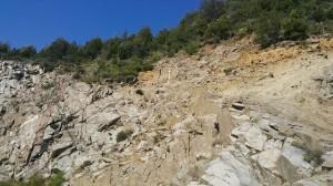piedras en la montaña