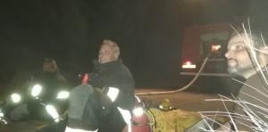 incendio meliquina bomberos 2