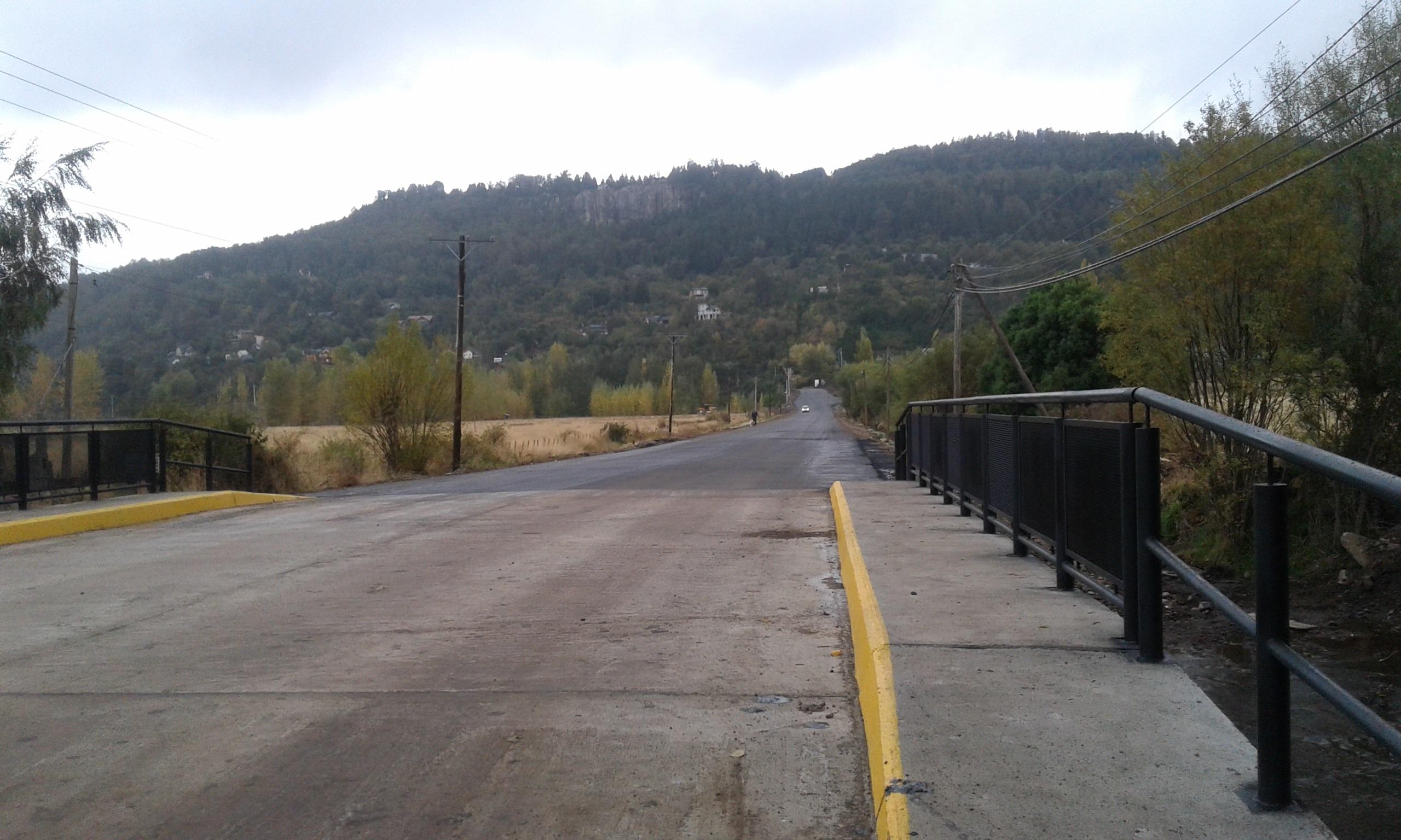 puente terminado y ruta mejor