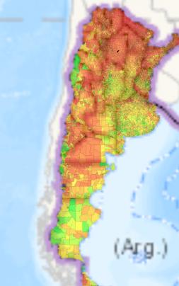 mapa calidad de vida