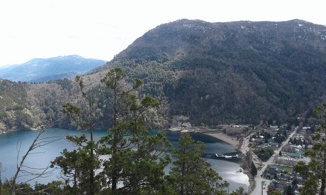 panoramica con lago desde mirador