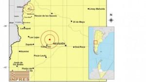 mapa sismo sauzal