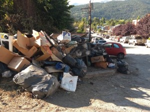 abandono basura
