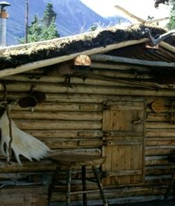 cabaña en alaska