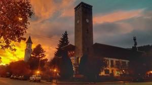 municipio con cielo