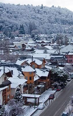 ´panoramica invierno calle