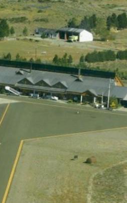 aeropuerto desde el aire
